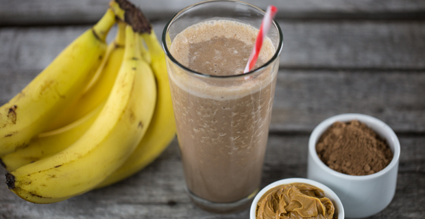 Mel's Peanut Butter, Banana, Chocolate Protein Shake